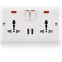 Electric wall switch socket